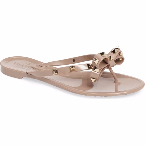 1c36e04f0371e Valentino Garavani Shoes | Rockstud Pvc Flip Flop Thong | Poshmark